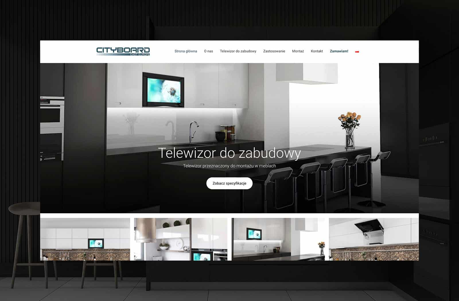 Telewizor do zabudowy